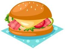 hamburgare Royaltyfri Fotografi