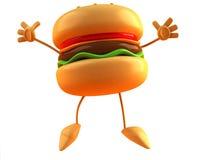 hamburgare Arkivfoton