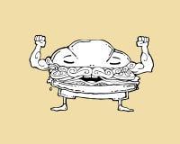 hamburgare Royaltyfri Bild