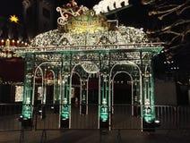 Hamburgare Weihnachtsmarkt Royaltyfri Bild