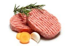hamburgerów warzywa Obrazy Stock