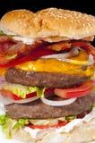 Hamburger énorme. Photos stock