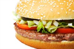 Hamburger Royalty Free Stock Images