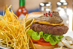 Hamburger Foto de Stock Royalty Free