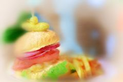 hamburger lizenzfreies stockbild