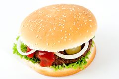 hamburger Obraz Royalty Free
