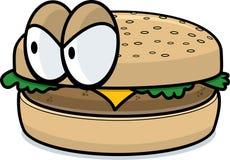 Hamburger stock illustratie