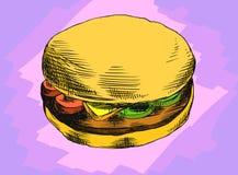 Hamburger Zdjęcie Stock