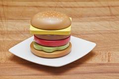 Hamburger Fotografie Stock Libere da Diritti