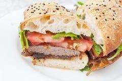 Hamburger Photos libres de droits