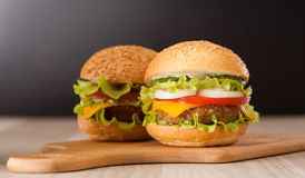 Hamburger Image stock