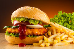 Free Hamburger Royalty Free Stock Images - 36889269