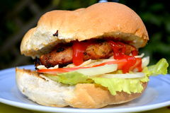 hamburger foto de stock