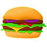 Hamburger Images libres de droits