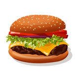 hamburger Obrazy Royalty Free