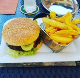 Hamburger Immagine Stock Libera da Diritti