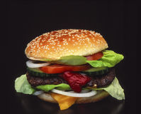 Hamburger Royalty-vrije Stock Afbeelding
