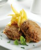 Hamburger avariati Immagini Stock Libere da Diritti