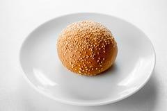 Hamburger babeczka Obrazy Royalty Free