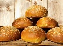 Hamburger babeczka Zdjęcie Stock