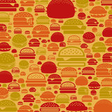 Hamburger a background Royalty Free Stock Photo