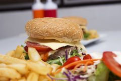 Hamburger Royalty Free Stock Images
