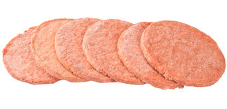 Hamburger Beef Meat VI Stock Photography