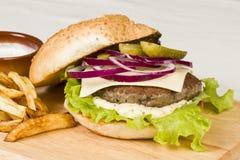 Hamburger. Royalty Free Stock Images