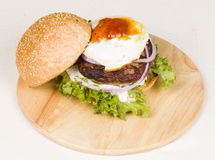 Hamburger. Stock Photos