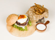 Hamburger. Royalty Free Stock Photography
