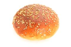 Hamburger bread Royalty Free Stock Image