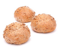 Free Hamburger Bun Or Roll With Sesame Seeds Isolated On White Backgr Stock Photos - 38080733