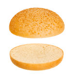 Hamburger bun Royalty Free Stock Photo