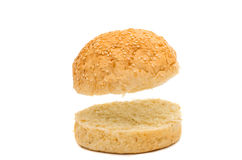 Hamburger bun Royalty Free Stock Photography