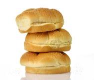 Hamburger buns Royalty Free Stock Images