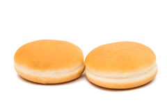 Hamburger buns isolated Stock Photography