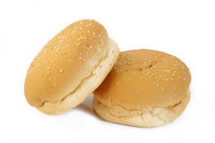 Hamburger buns Stock Photo