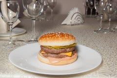 Hamburger, Burger stockfotografie