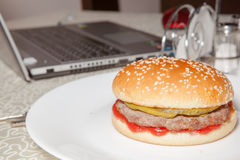 Hamburger, Burger lizenzfreie stockfotografie