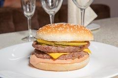 Hamburger, Burger stockfoto