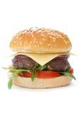 Hamburger with cheese Stock Image