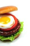 Hamburger Closeup Royalty Free Stock Photography