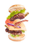 Hamburger concept Stock Photo