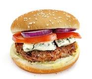 Hamburger d'isolement Image stock