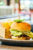 Hamburger da carne Fotografia de Stock Royalty Free