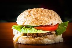 Hamburger de boeuf image stock