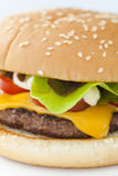 Hamburger de fromage Image libre de droits