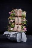 hamburger de sauce à Crevette-pâte Image libre de droits