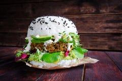 Hamburger de sushi Images libres de droits