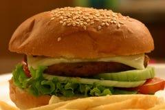 Hamburger de Veg images stock